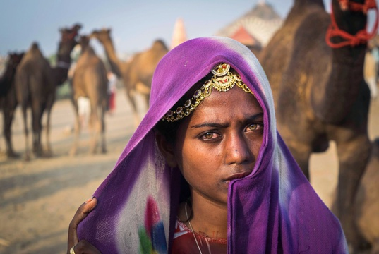Young woman, Rajasthan, India