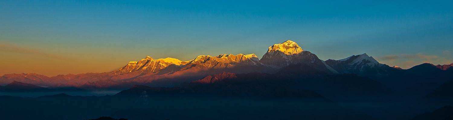 Mt Everest at sunset, Nepal