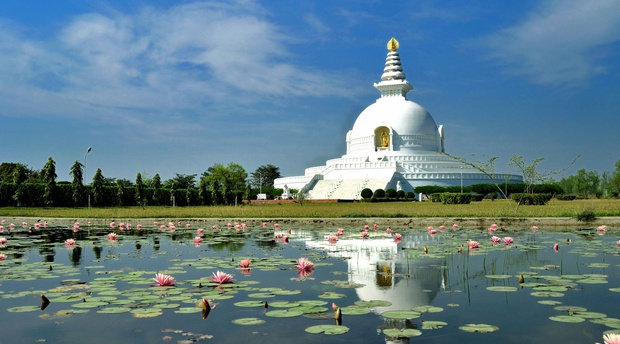 World Peace Pagoda, Lumbini, Nepal