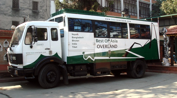 Best of Asia Overland purposely built Mercedes Benz vehicle