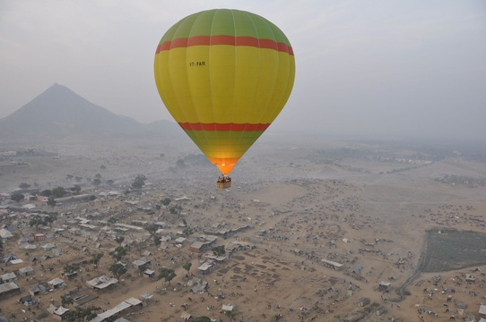 Hot Air Ballon, Jaipur, India